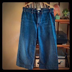 Everlane Wide Leg Crop ankle jeans!